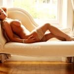 Kayleigh Pearson Nude on Chaise Longue