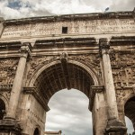 Arch of Septimius Severus, or possibly Snape