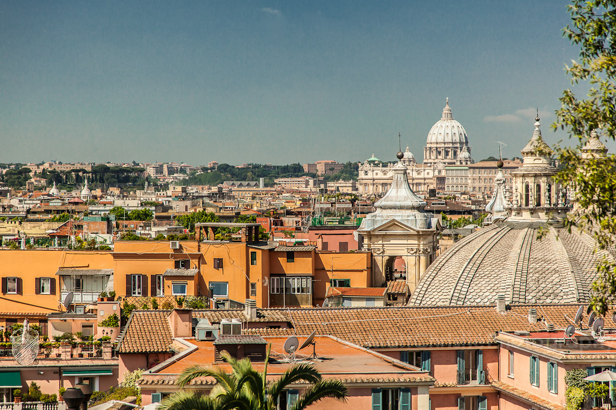 Rome Day Four – Park, Pantheon & Piazza del Poppolo