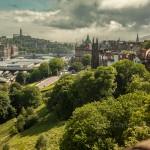 Edinburgh from Edinburgh Castle