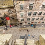 Royal Mile from Camera Obscura