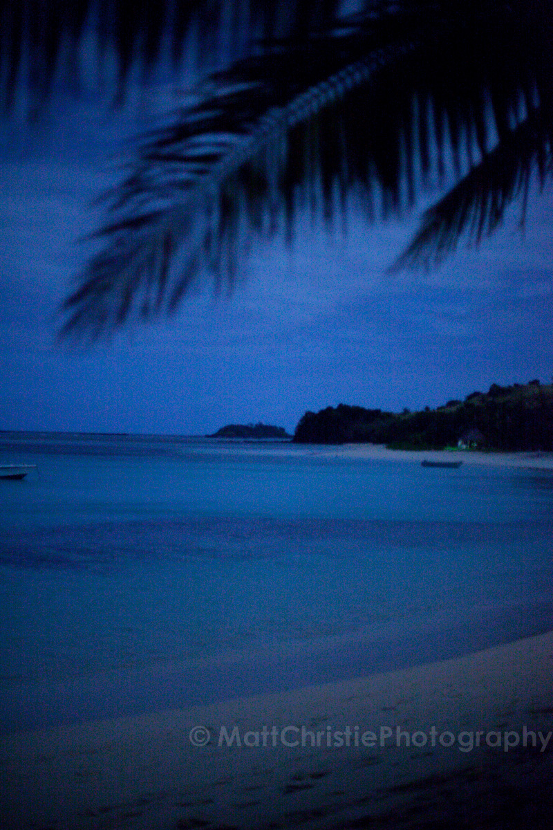 Fiji after dark