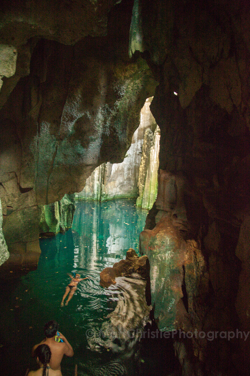 Fiji Blue Lagoon Cave